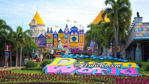 Kinh nghiệm đi chơi tại Dream World Bangkok: Hướng dẫn vui chơi ở Dream World Bangkok