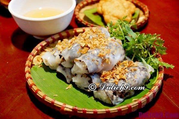 Địa chỉ quán bánh cuốn ngon ở Hà Nội: Ăn bánh cuốn ở đâu Hà Nội ngon đúng chuẩn
