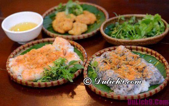 Địa chỉ quán bánh cuốn ngon ở Hà Nội: Hà Nội có quán bánh cuốn nào ngon, nổi tiếng giá rẻ