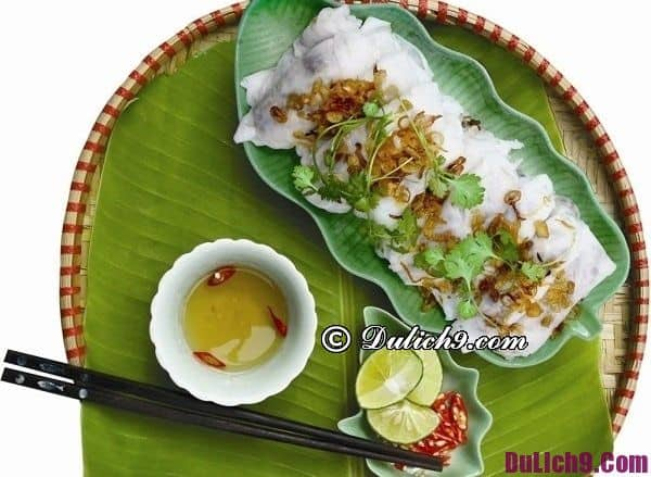 Ăn bánh cuốn ở đâu ngon tại Hà Nội? Địa điểm ăn bánh cuốn ngon hấp dẫn cực nổi tiếng ở Hà Nội
