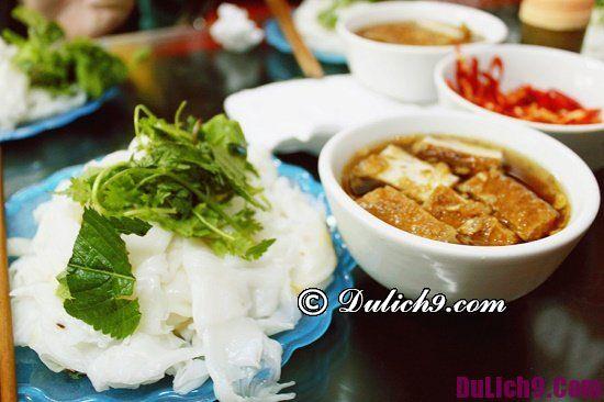 Quán bánh cuốn ngon ở Hà Nội: Ăn bánh cuốn ở đâu Hà Nội ngon nhất?