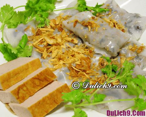 Nhà hàng bánh cuốn ngon ở Hà Nội: Địa chỉ ăn bánh cuốn thơm ngon giá rẻ tại Hà Nội