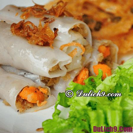 Địa điểm ăn bánh cuốn ngon ở Hà Nội. Ăn bánh cuốn ở đâu Hà Nội ngon nhất?