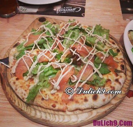 Hỏi quán pizza ngon ở Hà Nội: Hà Nội có quán pizza nào ngon, giá rẻ