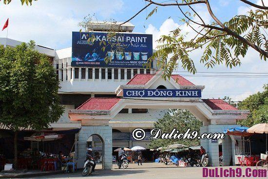 Địa điểm tham quan, mua sắm nổi tiếng ở Lạng Sơn: Nơi mua sắm giá rẻ ở Lạng Sơn