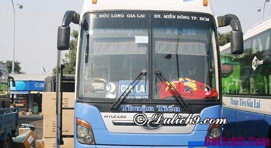 Hướng dẫn du lịch Pleiku, Gia Lai tiết kiệm từ A-Z: Du lịch Pleiku bằng phương tiện gì nhanh chóng, an toàn, giá rẻ