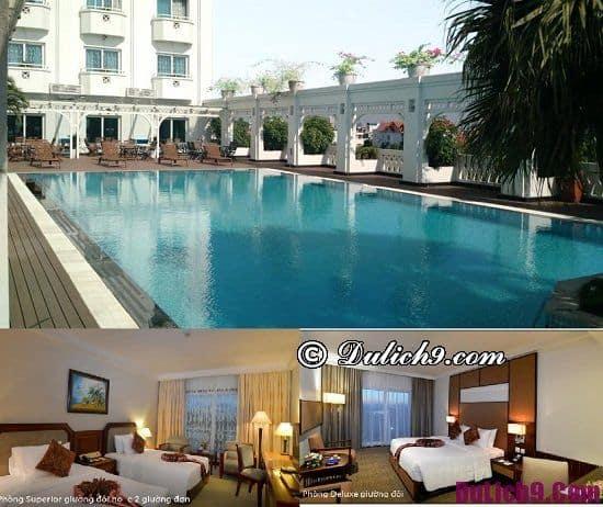 Khách sạn cao cấp, hiện đại ở Hải Phòng view đẹp, tiện nghi đầy đủ: Khách sạn chất lượng cao ở trung tâm Hải Phòng nên ở