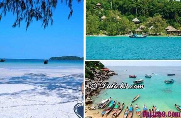 Kinh nghiệm du lịch Sihanoukville, đi đâu & chơi gì thú vị? Tư vấn tour du lịch Sihanoukville tự túc, giá rẻ