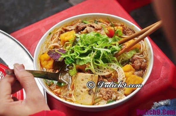 Bún riêu Nguyễn Siêu ngon nhất Hà Nội: Địa điểm ăn bún riêu cua ngon giá bình dân ở Hà Nội