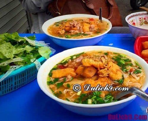 Bún riêu Hàng Bạc ngon nhất nhì Hà Nội: Quán bún riêu cua nào ngon ở Hà Nội