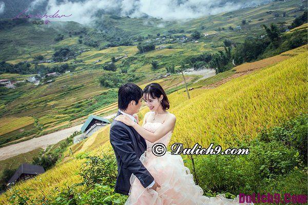 Chụp ảnh cưới vào tháng nào đẹp nhất ở Sapa? Địa điểm chụp hình cưới độc và lạ ở Sapa