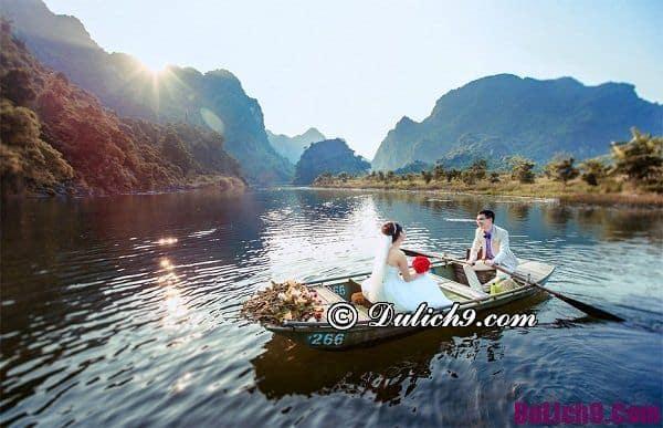 Địa điểm chụp ảnh cưới đẹp ở Ninh Bình: Chụp hình cưới ở đâu Ninh Bình lãng mạn, thơ mộng nhất