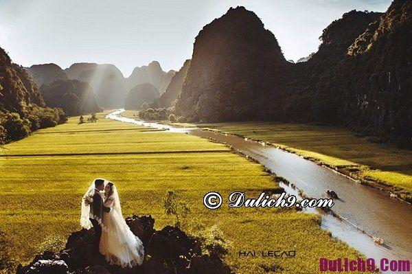 Chụp ảnh cưới ở đâu Ninh Bình là lý tưởng? Địa điểm chụp hình cưới ấn tượng, cảnh đẹp ở Ninh Bình
