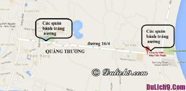 Địa điểm các món ăn vặt ở Phan Rang Ninh Thuận: Địa chỉ các quán ăn vặt ngon, nổi tiếng ở Phan Rang