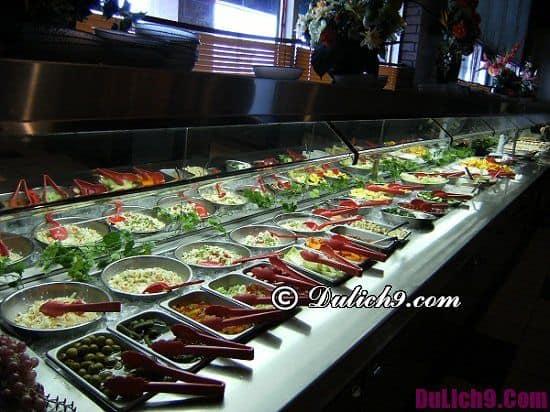 Ăn buffet ở đâu ngon tại Hà Nội? Các nhà hàng buffet ngon giá rẻ ở Hà Nội
