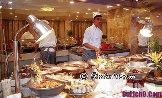 Địa chỉ buffet nổi tiếng nhất ở Hà Nội: Nhà hàng buffet ngon, hấp dẫn ở Hà Nội