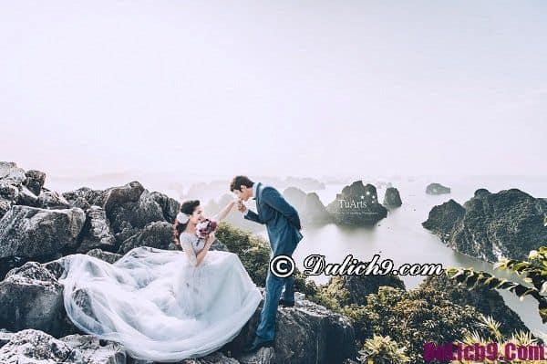 Chụp ảnh cưới ở Hạ Long: Quảng Ninh có địa điểm chụp ảnh cưới nào đẹp?