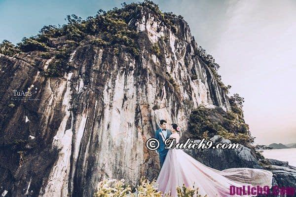 Chụp ảnh cưới đẹp tại Quảng Ninh: Nơi có phong cảnh đẹp để chụp ảnh cưới độc đáo ở Quảng Ninh
