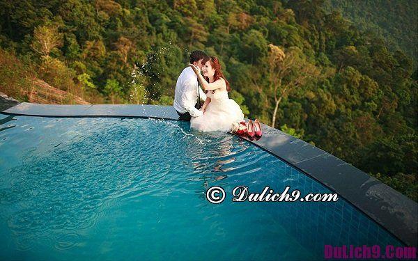 Chụp ảnh cưới ở Tam Đảo Belvedere Resort: Những nơi có phong cảnh đẹp để chụp hình cưới ở Tam Đảo