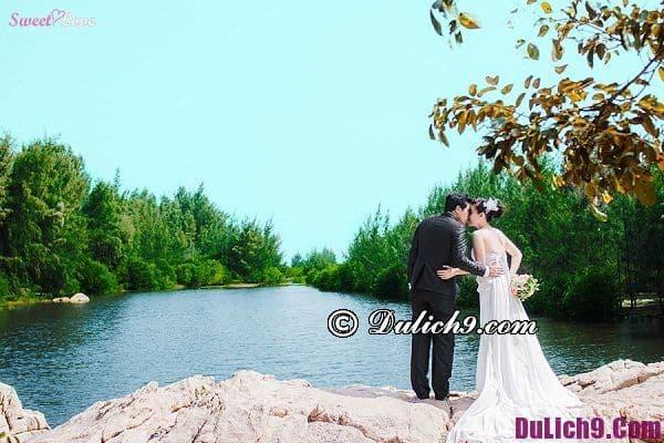 Chụp ảnh cưới đẹp ở Hồ Tràm, Vũng Tàu: Những nơi chụp hình cưới nổi tiếng ở Vũng Tàu