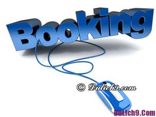 Hướng dẫn đặt phòng khách sạn tại Booking.com