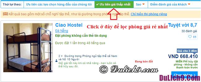 Các bước đặt phòng khách sạn qua Booking.com, hướng dẫn đặt phòng trên Booking.com