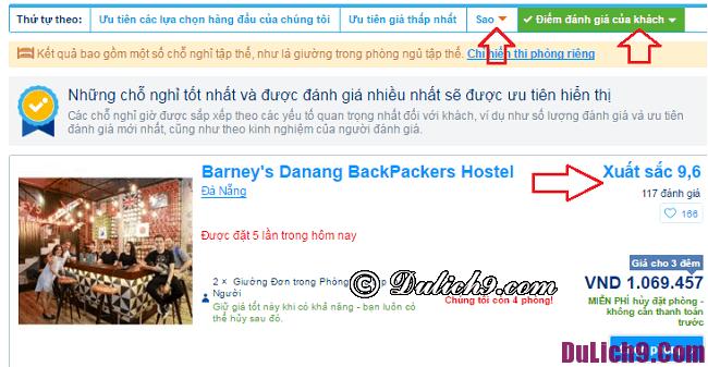 Đặt phòng khách sạn trên trang Booking.com như thế nào