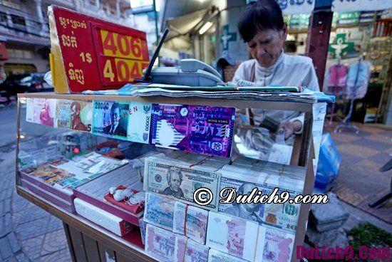 Đi du lịch Campuchia nên đổi tiền gì? Địa chỉ đổi tiền Campuchia uy tín