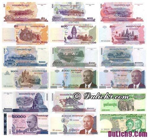Hướng dẫn đổi tiền Campuchia: Du lịch Campuchia đổi tiền ở đâu?
