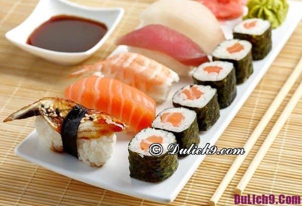 Ăn sushi ở đâu ngon và rẻ ở Hà Nội? Địa chỉ ăn sushi ngon nổi tiếng ở Hà Nội