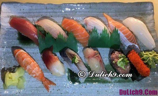 Nhà hàng sushi nổi tiếng ở Hà Nội: Địa chỉ ăn sushi ngon nhất Hà Nội