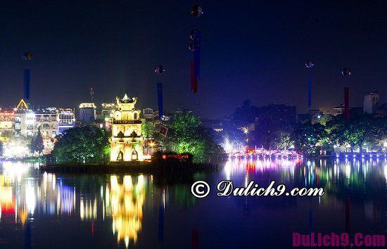 Địa điểm vui chơi ngắm cảnh về đêm ở Hà Nội nổi tiếng nhất: Đi đâu chơi vào buổi tối ở Hà Nội