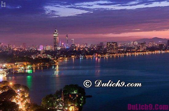 Nên đi chơi đâu vào buổi tối ở Hà Nội: Những địa điểm ngắm cảnh, chụp ảnh đẹp ở Hà Nội vào ban đêm