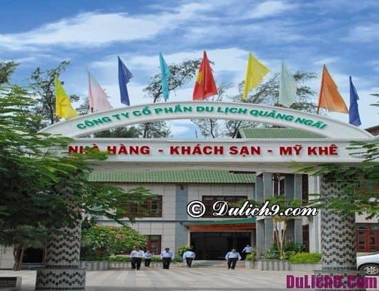 Nên ở khách sạn nào khi đi du lịch Quảng Ngãi: Khách sạn, resort ở Quảng Ngãi đẹp, gần biển
