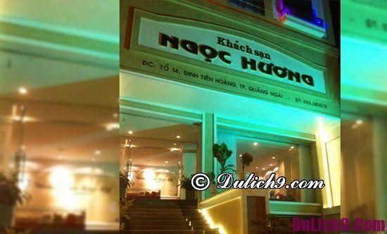 Nhà nghỉ, khách sạn ở Quảng Ngãi giá rẻ, tiện nghi sạch đẹp