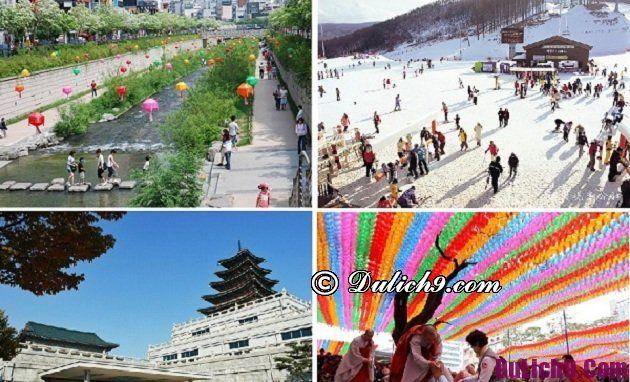 Hướng dẫn du lịch Hàn Quốc dịp tết nguyên đán tự túc, giá rẻ: Gợi ý lịch trình du lịch Hàn Quốc 5 ngày 4 đêm dịp tết nguyên đán