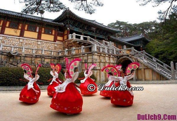 Du lịch Hàn Quốc 5 ngày 4 đêm dịp tết: Kinh nghiệm đi du lịch Hàn Quốc dịp nghỉ tết