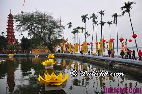 Ngôi chùa nổi tiếng linh thiêng để cầu may mắn dịp đầu năm ở Hà Nội