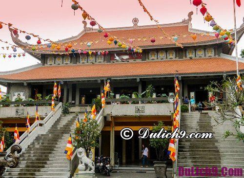 Ngôi chùa nổi tiếng nhất Sài Gòn dịp Tết