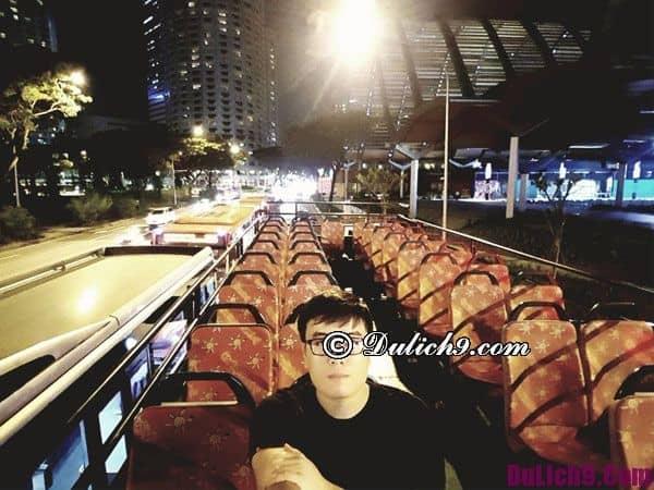 Kinh nghiệm du lịch Singapore tự túc 2017 - Trải nghiệm xe bus HOHO