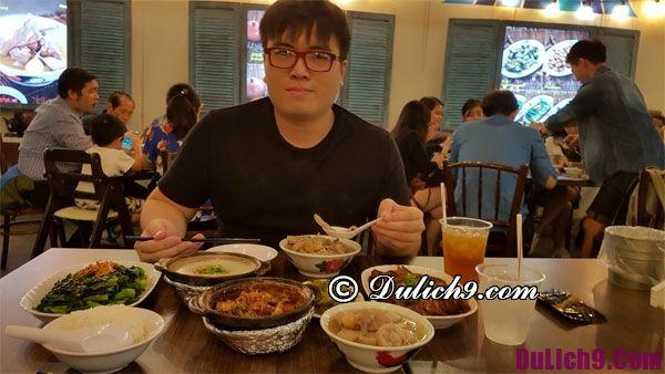 Thưởng thức món ăn ngon đặc sản khi du lịch Singapore tự túc