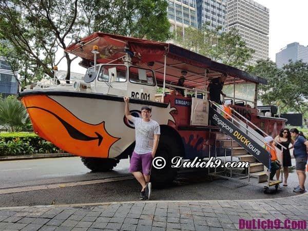 Tham quan vịnh Marina khi du lịch Singapore tự túc an toàn, tiết kiệm, giá rẻ