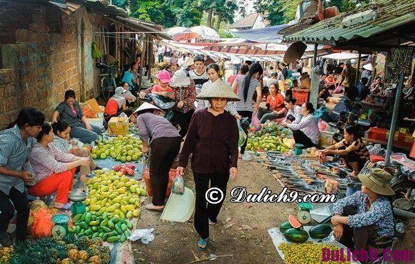 Các phiên chợ tết nổi tiếng ở Hà Nội: Đi chơi chợ tết nào ở Hà Nội dịp cuối năm