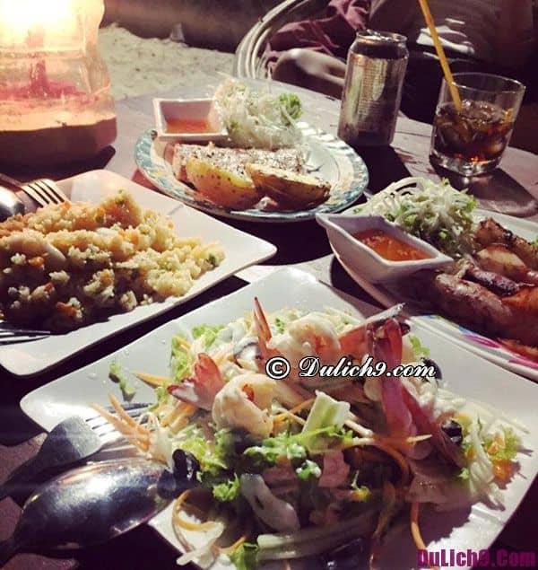 Ăn hải sản khi du lịch Campuchia, khá ngon và giá rẻ