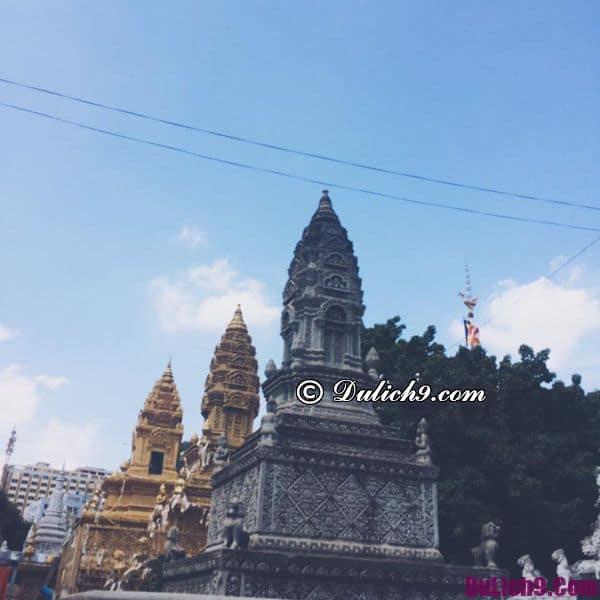 Các ngôi chùa cổ: Angkor Wat, Angkor Thom ở Campuchia