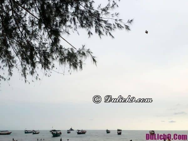 Bờ biển Sihanoukville - Cảnh đẹp nên tham quan khi du lịch Campuchia tự túc 2019