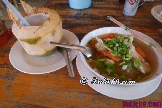 Địa điểm ăn uống khi du lịch đảo Koh Phangan