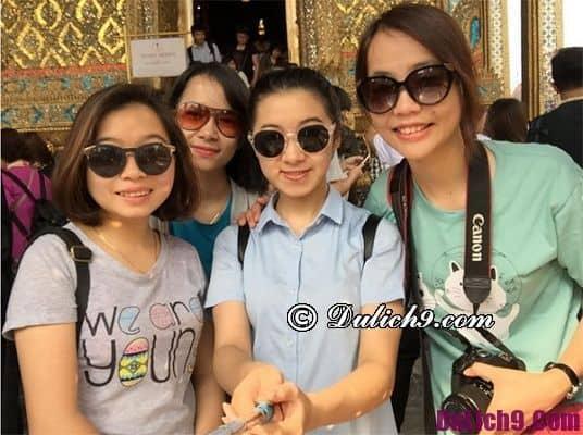 Lịch trình và chi phí cụ thể du lịch Bangkok 3 ngày 3 đêm