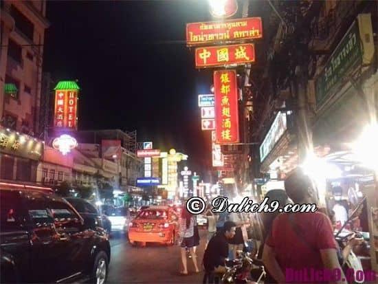Ở đâu khi du lịch Bangkok?
