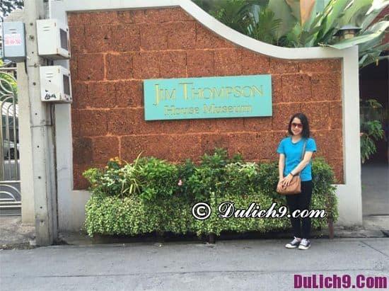 Lịch trìnhdu lịch Bangkok 3 ngày 3 đêm